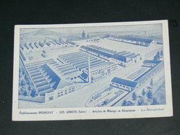 LES ABRETS  1950 /  PUBLICITE ETS BOURGEAT   .....  EDITEUR - Les Abrets
