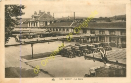 03.  VICHY .  La Gare . - Vichy