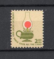Stati Uniti - USA :  Lume A Petrolio, 2 $  -  1 Val.  MNH**   16.11.1978 - Unused Stamps