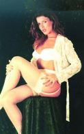 French Karen Lancaume  Actress PIN UP PHOTO Postcard - Publisher RWP 2003 (01) - Mujeres Famosas