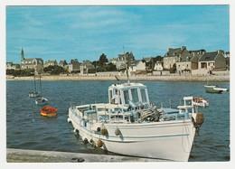 29 Ile De Batz N°3 Le Port Bateau Chargé De Nombreuses Bouteilles De Gaz - Ile-de-Batz
