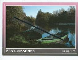 CPM - Bray Sur Somme  - La Nature -(80340 Picardie Somme) - Vallée De La Haute Somme - Barques Près De Bray - Bray Sur Somme