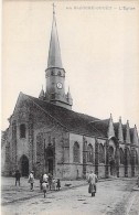 28 - LA BAZOCHE GOUËT : L'Eglise ( Animation ) - CPA - Eure Et Loire ( Perche ) - France