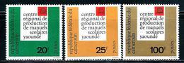 Cameroun  UNESCO  Set SC# 386-88 MNH** - Cameroon (1960-...)