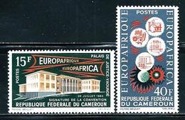 "Cameroun       "" Europafrica""    Set    SC# 401-02 MNH** - Cameroon (1960-...)"