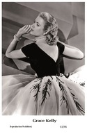 GRACE KELLY - Film Star Pin Up PHOTO POSTCARD - 61-46 Swiftsure Postcard - Cartes Postales