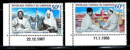 Cameroun       'President Ahidjo'      Set     SC#  C97-98  MNH** - Cameroon (1960-...)