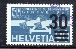 899 490 - SVIZZERA 1935 , Unificato N. 22 Usato Di Favore - Usados