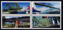 CANADA - 2152/2155** - PONTS - 1952-.... Reinado De Elizabeth II