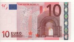 "10 EURO  ""S""   ITALY    Firma Trichet   J 007 C1  /  FDS - UNC - EURO"