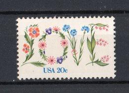 Stati Uniti - USA :  Amore & Fiori  -  1 Val.  MNH**   1.02.1982 - Unused Stamps