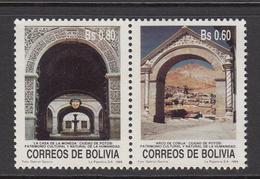 1989 Bolivia City Of Potosi Complete  Set Of 2 MNH - Bolivia