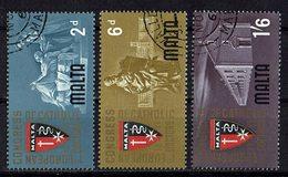 Malta 1964 // Mi. 289/291 O (024..650) - Malta