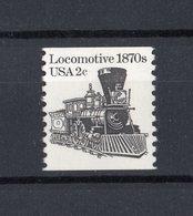 Stati Uniti - USA :  P.O. Treno  2 Cent. Dent. 10 Verticale - 1 Val.  MNH**   20.05.1982 - Unused Stamps