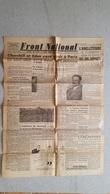 FRONT NATIONAL EDITION DE PARIS  03/11/1944 CARICATURE HITLER GRAND HOTEL DE BADEN BADEN - Journaux - Quotidiens