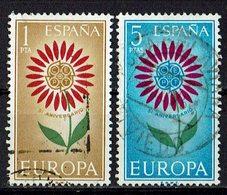 Spanien 1964 // Mi. 1501/1502 O (024..654) - 1931-Heute: 2. Rep. - ... Juan Carlos I