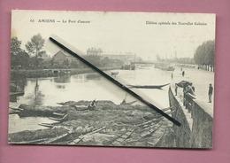 CPA  - Amiens  -  Le Port D'amont - Amiens