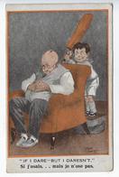 CPA Illustrateur Fred Spurgin Humoristique Comique 270 Florence House Barnes Londres Si J'osais - Spurgin, Fred