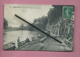 CPA  - Abbeville  - Les Bords De La Somme  -  Le Pâtis - Abbeville