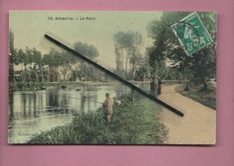 CPA  - Abbeville  -  Le Pâtis  - (pêche , Pêcheur ) - Abbeville