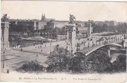 F75-087 PARIS - Le Pont Alexandre III - Bridges
