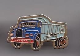 Pin's Camion Transports Bernard Travaux Publics Réf 4743 - Transportation