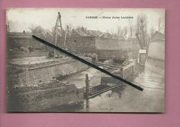 CPA  Abîmée  - Corbie  - Usine Jules Lardière -(cachet Au Verso: Jeune Corbie Sportive - Corbie (Somme) ) - Corbie