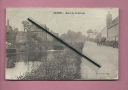 CPA   - Corbie  - Canal De La Somme  -  (   Péniche ) - Corbie