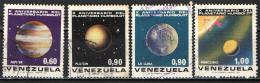 VENEZUELA - 1973 - PIANETI DEL SISTEMA SOLARE - USATI - Venezuela