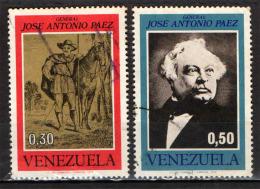 VENEZUELA - 1973 - GENERALE JOSE' ANTONIO PAEZ - USATI - Venezuela