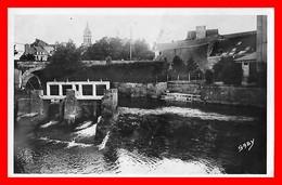 CPSM/pf (22) PLANCOET.  Le Pont Des Buis Et La Rivière...C941 - Plancoët