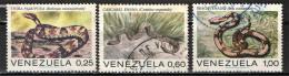 VENEZUELA - 1972 - SERPENTI: BOA CONSTRICTOR - USATI - Venezuela