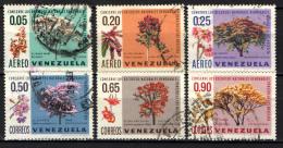 VENEZUELA - 1969 - PROTEZIONE DELLA NATURA - ALBERI - USATI - Venezuela