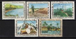 VENEZUELA - 1969 - IL TURISMO IN VENEZUELA - USATI - Venezuela