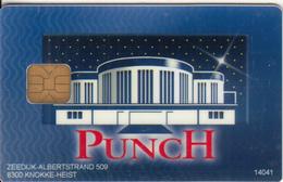 BELGIUM - Punch, Knokke Casino, Member Card, Used - Gift Cards