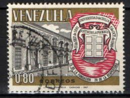 VENEZUELA - 1967 - UNIVERSITA' DI ZULIA - 75° ANNIVERSARIO - USATO - Venezuela