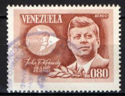 VENEZUELA - 1966 - JOHN FITZGERALD KENNEDY - USATO - Venezuela