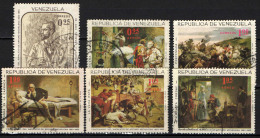 VENEZUELA - 1966 - ARTURO MICHELENA - PITTORE - PAINTINGS - USATI - Venezuela