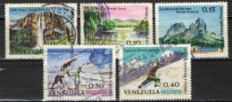 VENEZUELA - 1964 - TURISMO IN VENEZUELA - USATI - Venezuela