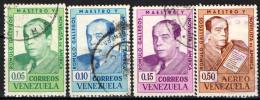 VENEZUELA - 1964 - ROMULO GALLEGOS - SCRITTORE E NOVELLIERE - USATI - Venezuela