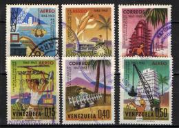 VENEZUELA - 1964 - PROGETTO DI SVILUPPO DEL VENEZUELA - USATI - Venezuela