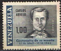 VENEZUELA - 1964 - CARLOS ARVELO - MEDICO E FISICO - USATO - Venezuela