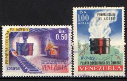 VENEZUELA - 1964 - ACCIAIERIE DELL'ORINOCO - USATI - Venezuela