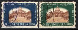 VENEZUELA - 1963 - BASILICA DI SAN PIETRO A ROMA - USATI - Venezuela