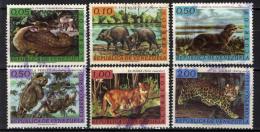 VENEZUELA - 1963 - ANIMALI SELVATICI DEL VENEZUELA - USATI - Venezuela