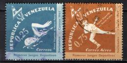 VENEZUELA - 1962 - CAMPIONATI SPORTIVI NAZIONALI A CARACAS - USATI - Venezuela