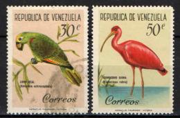 VENEZUELA - 1961 - UCCELLI - BIRDS - USATI - Venezuela