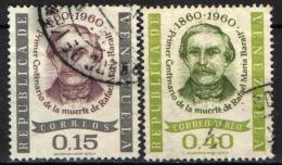 VENEZUELA - 1961 - RAFAEL MARIA BARALT - STATISTA - USATI - Venezuela