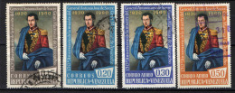 VENEZUELA - 1960 - ANTONIO JOSE' DE SUCRE - EROE NAZIONALE - USATI - Venezuela