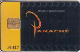 BELGIUM - Panache Casino, Member Card, Used - Gift Cards